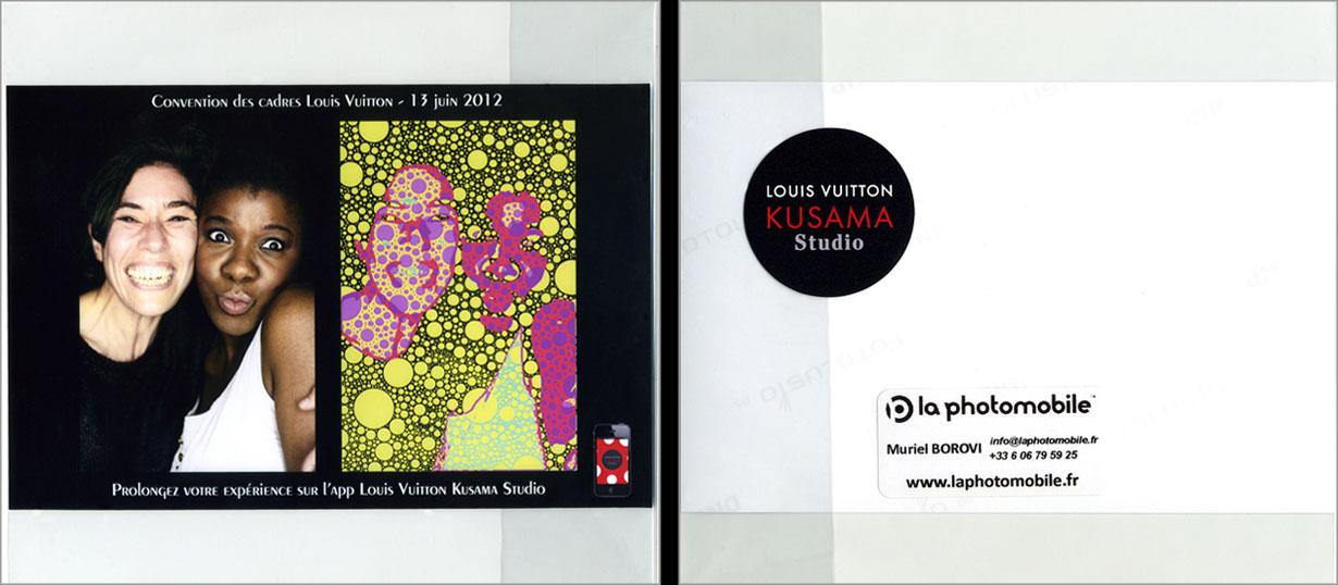 La Photomobile les gommettes sur mesure pour Louis Vuitton